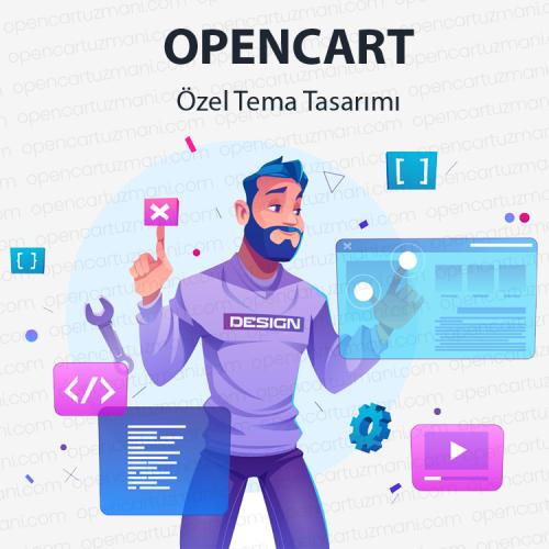 Opencart Özel Tema Tasarımı